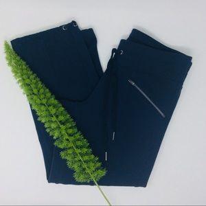 Athleta Gorgeous Navy Active Capri Pants Size (XS)